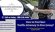How to Find Best Traffic Attorney In New Jersey?