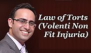 Introduction to Law of Torts [Video-3] Volenti Non Fit Injuria