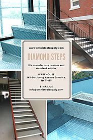 Diamond Plate Stair Treads