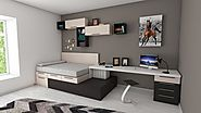 Furniture for a Modular Home Office Interior Concept