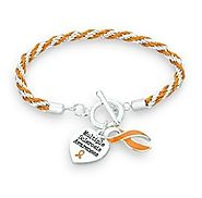 Shop Multiple Sclerosis awareness bracelets online