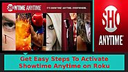How To Find Code Showtime Anytime Activate on Roku Device