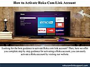 Activate Roku.Com/Link Account