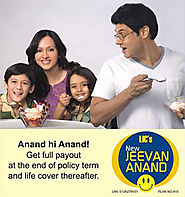 LIC Tax Saving Plans | Buy LIC Jeevan Anand Policy -Call @7411199333