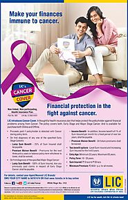 Buy LIC Cancer Cover Policy, Call @7411199333| LIC Tax Saving Plans