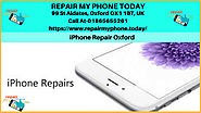 Cracked iPhone Repair Service in Oxford UK