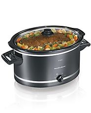 Hamilton Beach 33182A Slow Cooker, 8-Quart