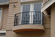 How to take care of iron balcony railings and doors? | Go Mighty