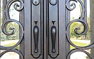 Is iron door with cheap iron handles your home's requirement?