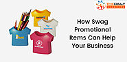 How Swag Promotional Items Can Help Your Business