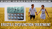 Buy Cenforce 100 mg Online Paypal | Best Erectile Dysfunction Treatment