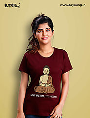 T-Shirts for Women | Buy Women's T-Shirt Online – BeYOUng