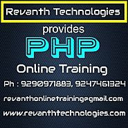 PHP Online Training in India, PHP Online Training institute in Hyderabad, PHP Online Training Institutes