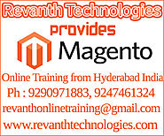 Magento Online Training from India, Best Magento online training institute in Hyderabad.