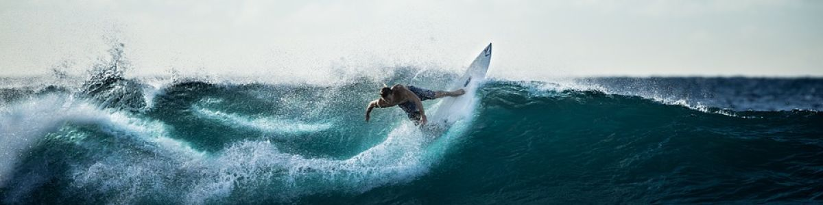 Headline for Surfing Spots in the Maldives- The island hub for many water activities