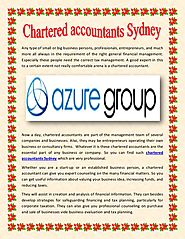 Chartered accountants sydney