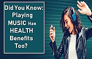HEALTH Benefits of Listening Music