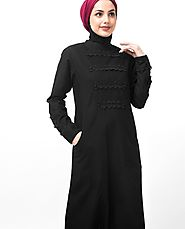 Modest And Fashionable Online Jilbab Abaya For Formal & Casual Wear