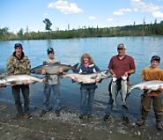 King Salmon Fishing in Alaska by Alaska Halibut Fishing Charter