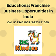 Best educational franchise opportunities offer in India - UC Kindies