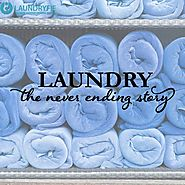 Sort this never ending story by outsourcing your laundry to laundryfie.com. #LaundryWoes #Laundryfie