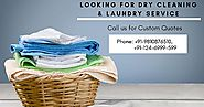 Book Affordable Laundry & Dry Cleaning Services