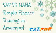 Top Institute For SAP S/4 HANA Simple Finance Training in Ameerpet|| Get Real-Time Experience CALFRE