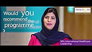MSc International Healthcare Leadership Testimonial One