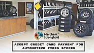 Accept Credit Card Payments for Automotive Tires Stores