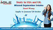 Study in USA and UK.