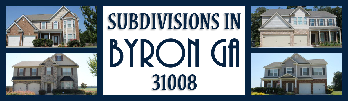 Headline for Byron GA Subdivisions