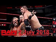 Watch live streaming WWE Raw 02 july 2018 thewatchseries HD