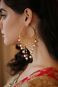 Get Indo Western & Traditional Earrings Online at Best Prices - Mohey