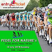 Pedal For Nature'5 in Chennai | Online Registration Available on Entryeticket