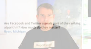 Matt Cutts Confirms Facebook & Twitter Not Used For Ranking