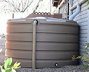 How far into the ground should you place your water tank?
