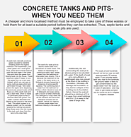 Concrete Tanks and Pits – when You Need Them
