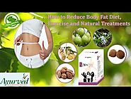 Natural Treatments, Diet and Exercise to Reduce Body Fat Naturally at Home