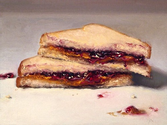 1. Tell me how to make a peanut butter and jelly sandwich: