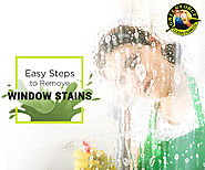 6 Easy Steps to Remove Window Stains