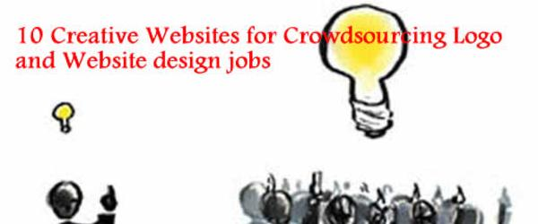 Headline for Creative Websites for Crowdsourcing your Logo and Website design jobs
