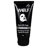 Buy Online Charcoal Peel Off Mask For Black Heads and Oil Removal