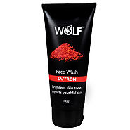 Buy Online Saffron Face Wash For Oil and Dust removal