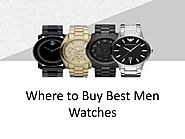 Where to Buy Best Men Watches by timemachineplus