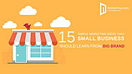 15 Simple Marketing Ideas that Small Business Should Learn From Big Brand - Nettechnocrats Blog