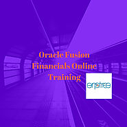 Best Institution | Oracle Fusion Financials Online Training | ERPTREE