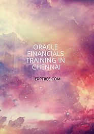 Oracle Financials Training in Chennai | ERPTREE Oracle Training
