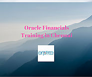 Job Oriented Oracle Financials Training in Chennai = | Best Institute