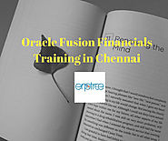 Course Details for Oracle Fusion Financials Training in Chennai || Search Here