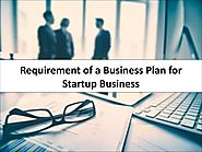 Requirement of a Business Plan for Startup Business